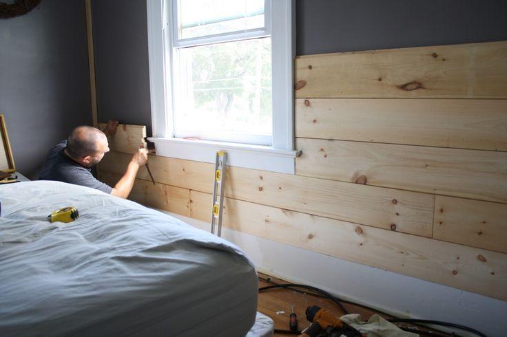 Shiplap Siding In Bedroom Google Search Cheap Er Headboard Ideas Pinterest Shiplap