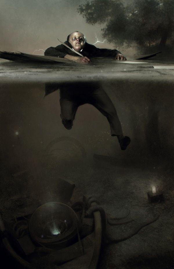 Digital Concept Art by Sergey Kolesov