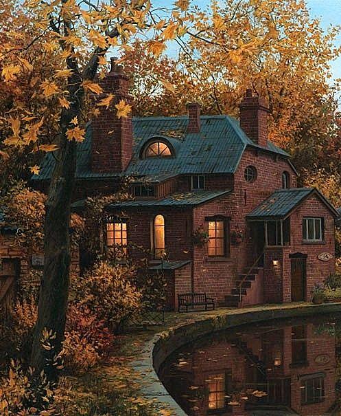 Autumn Home, Autumn Cozy, Exterior