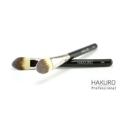 Pędzel do podkładu Hakuro H18   #makeup #brush