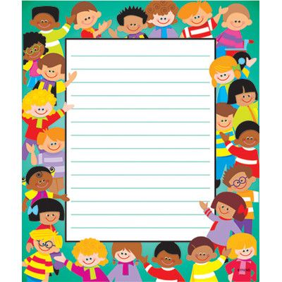 marco escritura nombre niños escuela preescolar