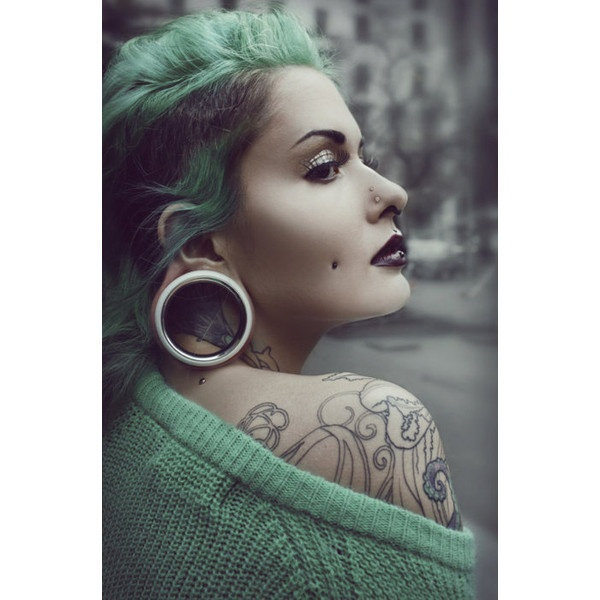 269 Best Body Modification Images On Pinterest: 20 Best Images About Stretched Piercing On Pinterest