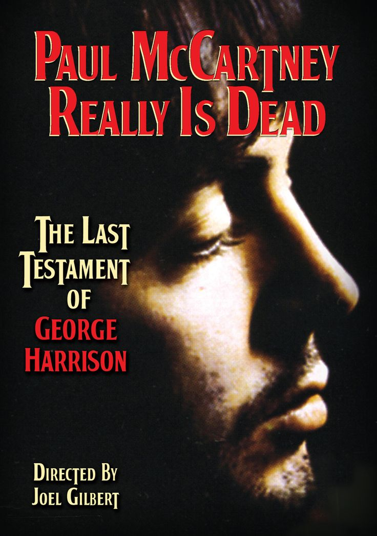 An interesting movie about the Paul is Dead theory supposedly written by George Harrison
