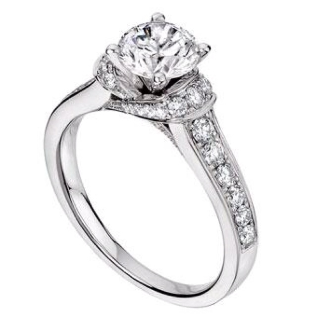 Beautiful wedding ring from Ben bridge.
