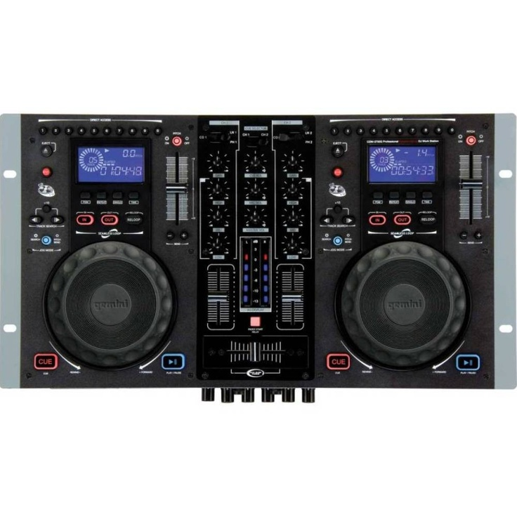 Gemini CDM-3700G Dual Karaoke CD Player - DJ Equipment found at http://sniffmusic.com