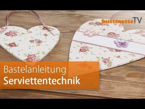 buttinetteTV | Grundlagen Serviettentechnik | Tutorial