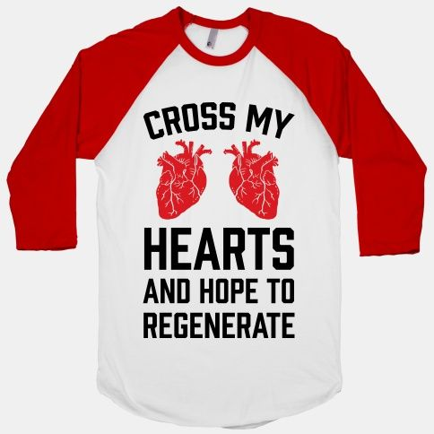 Cross My Hearts And Hope To... | T-Shirts, Tank Tops, Sweatshirts and Hoodies | HUMAN