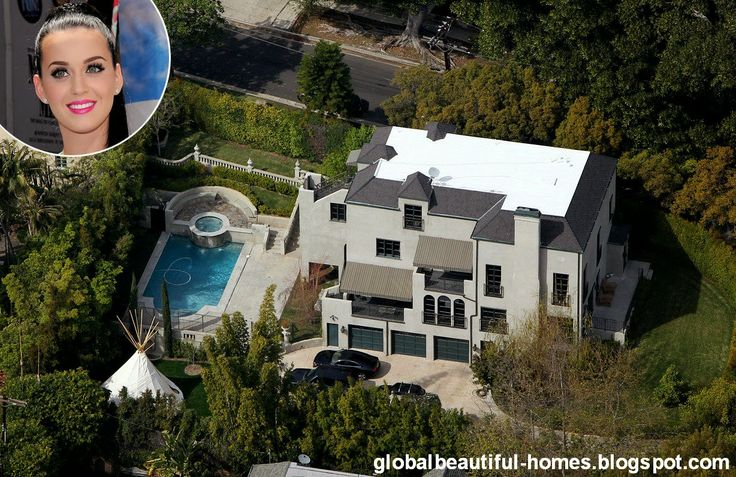 Katy Perry and Russel Brand's Home