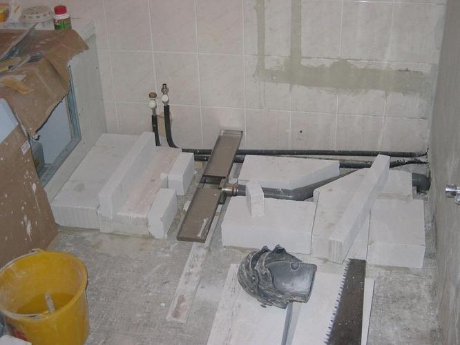 Leiding Vervangen Onder Verhoogde Vloer Werkspot Vloeren Badkamer Vloer Badkamerideeen