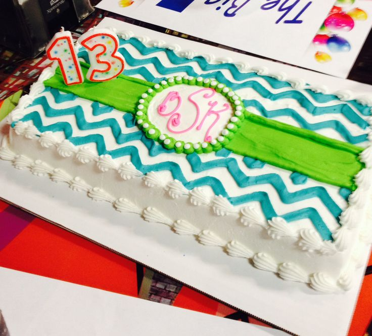 Cake Ideas For A 13th Birthday Party : 1000+ ideas about 13th Birthday Cakes on Pinterest ...