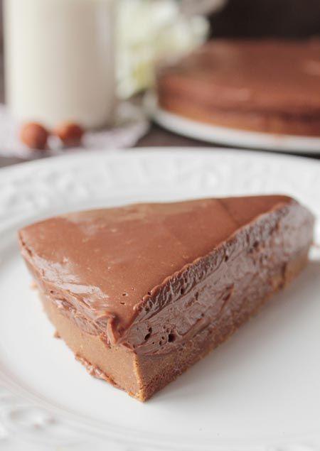 tarta de nutella de chocolate