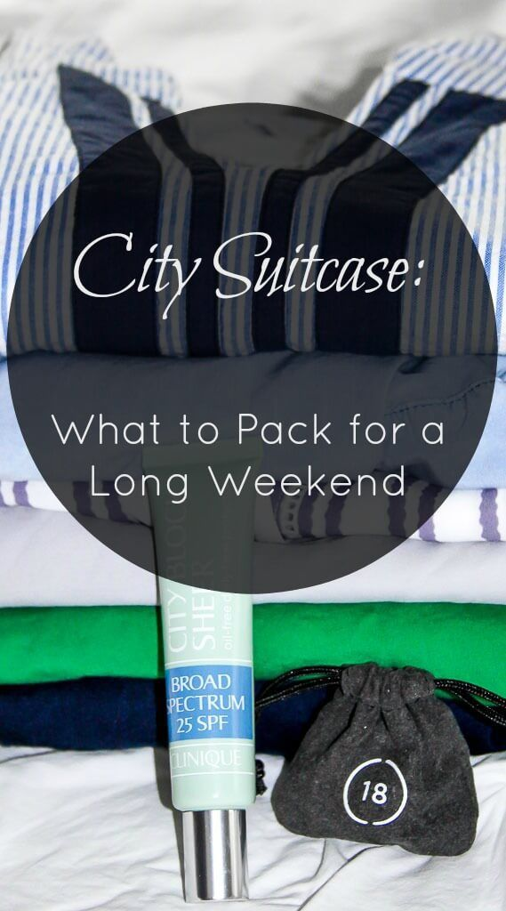 City Suitcase Packing Travel