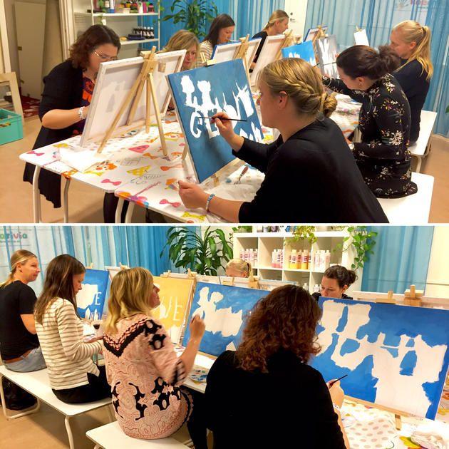 Social Artworking - det populäravuxenkalaset | Öppen keramik och skaparverkstad i Växjö