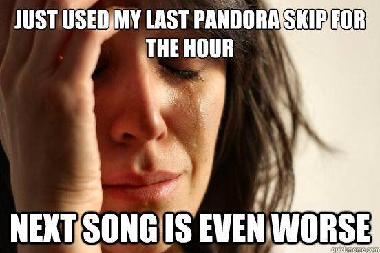 haha every morning!!