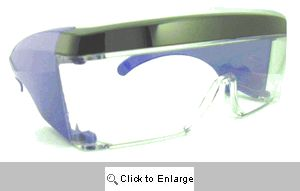 Jack-Attack Shield Glasses Sunglasses - 435 Blue