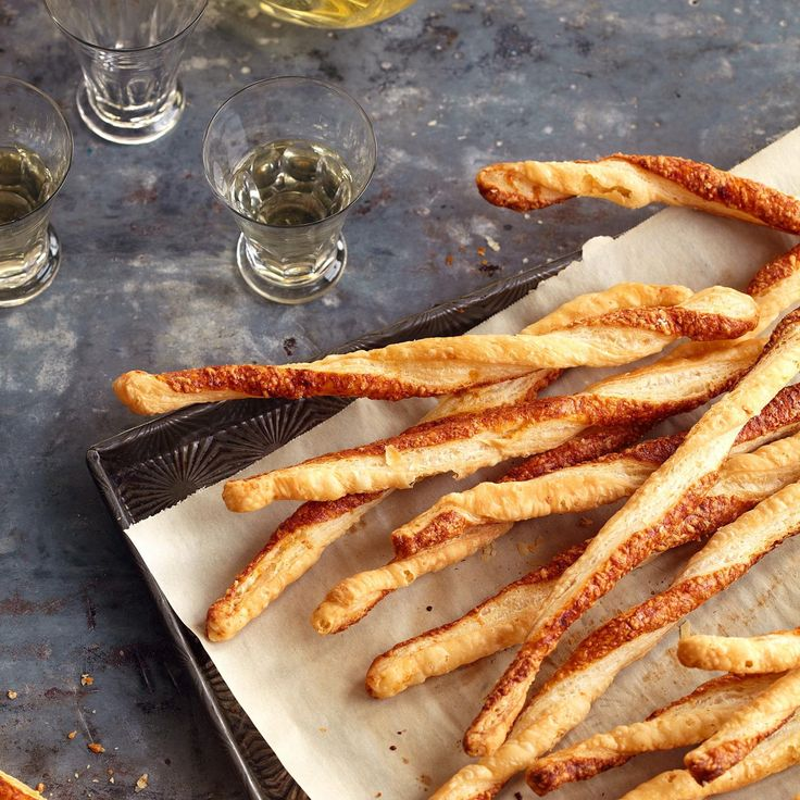 32 Healthy Kids Snacks - Pamesan Cheese Straws <3