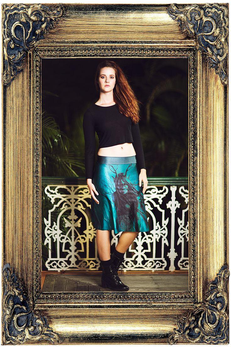 Spirit of the Wood Midi Skirt - $55.00 AUD