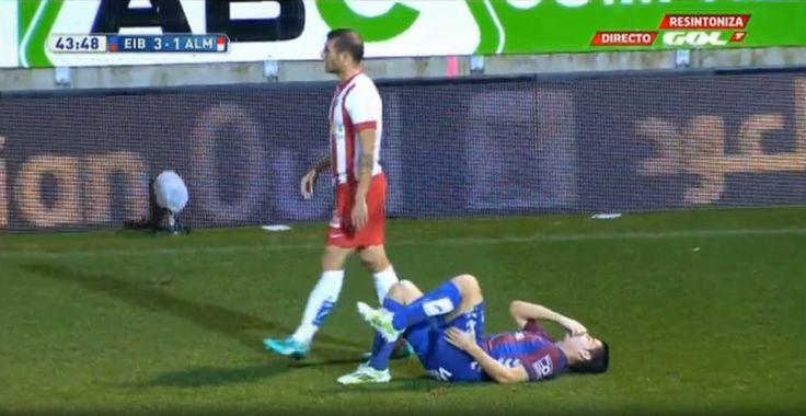 Saul Berjon Lesion - http://www.clubfeb.es/saul-berjon-lesion/