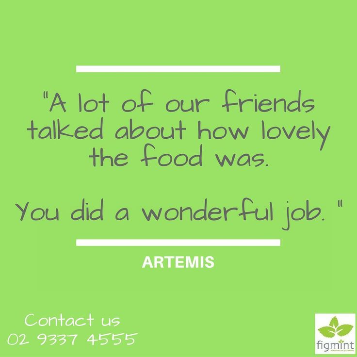 "According to Artemis ""Thank you so much for all your help with our event and your flexibility in dealing with our indecisiveness!"" Do you need help making decisions about your party? We can help you. Call us today at 02 9337 4555.  #figmintcatering #sydneycaterer #thehighheeledhostess"