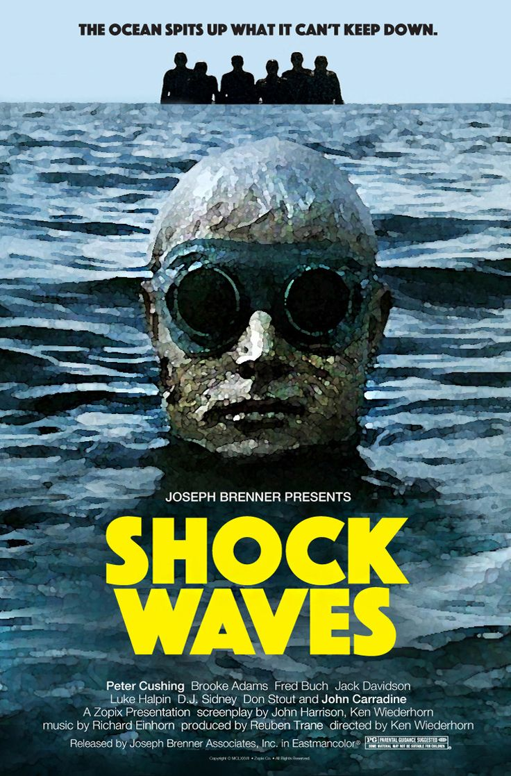 """fuckyeahmovieposters: """" Shock Waves by Robert Armstrong """""""