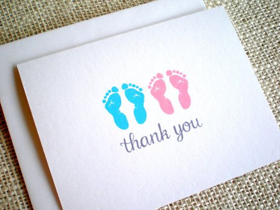29 best Baby Thank You Cards images on Pinterest Hand drawings - baby shower thank you notes