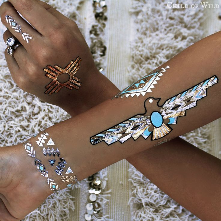 Desert Dweller Flash Tattoos www.childofwild.com