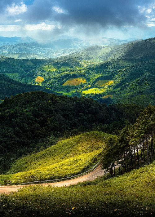 Mae Hong Son, Thailand is a treasured place in this South East Asian country. Don't miss the temple on the lake.