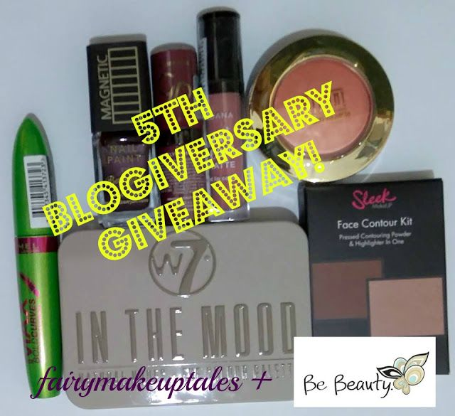"Fairy make-up tales . . . . : ""Happy 5th Birthday Fairy Make up Tales"" Giveaway!..."