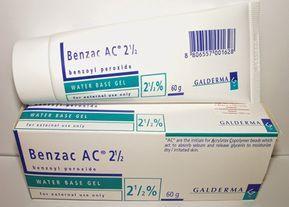 بنزويل بيروكسيد جل لعلاج حب الشباب Benzoyl Peroxide Gel Dry Irritated Skin Skin Care Diy Masks Benzoyl Peroxide