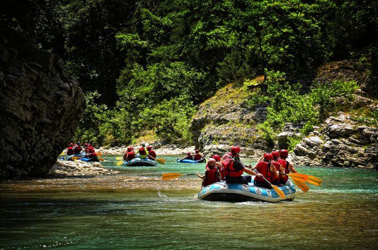 Rafting in Greece CallGreece.gr