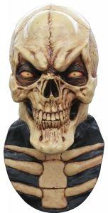 grinning skull skeleton mask halloween