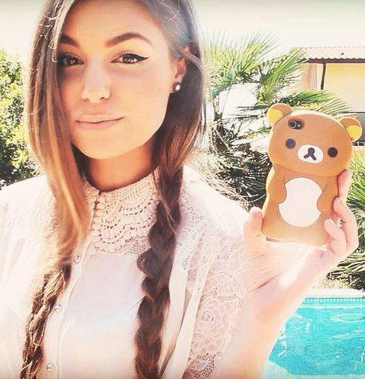 teen girl having sex with her bear toy