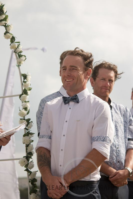 Tara & Pauls Sydney wedding This smile says it all #weddingphotography #weddingaustralia #bride&groom #loveisintheair