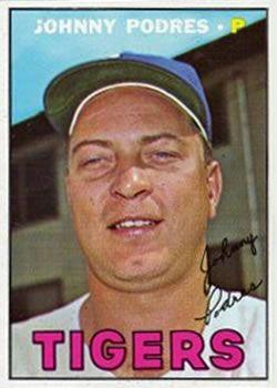 284 - Johnny Podres - Detroit Tigers