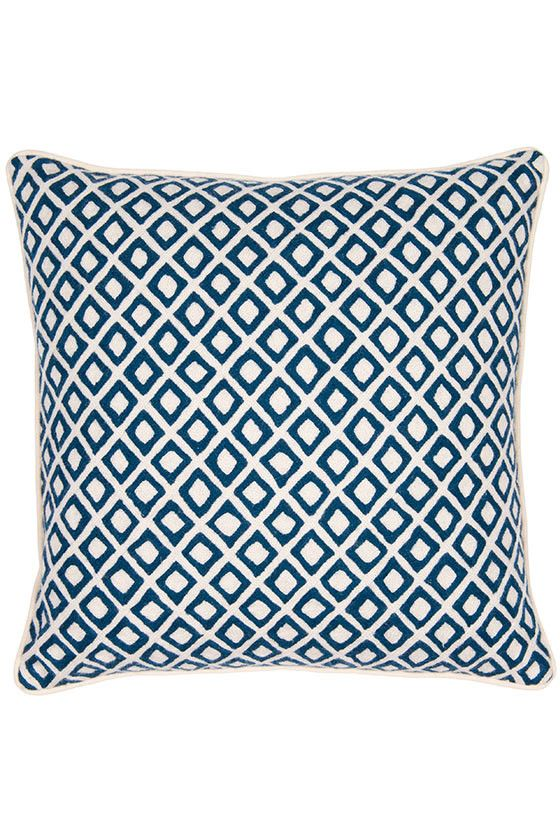 Amli Navy Cushion - Cushions - Accessories - Shop Collection The Rug Company