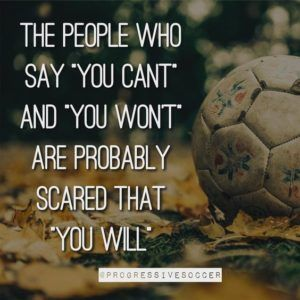 Motivating Quotes for Soccer Athlete