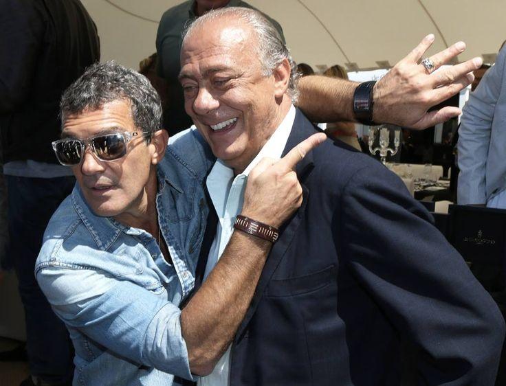 Ten By Fifteen aime aussi prendre soin des stars: Antonio Banderas pendant la soirée The Expendables 3 - De Grisogono  #FIF2013 #theexpendables