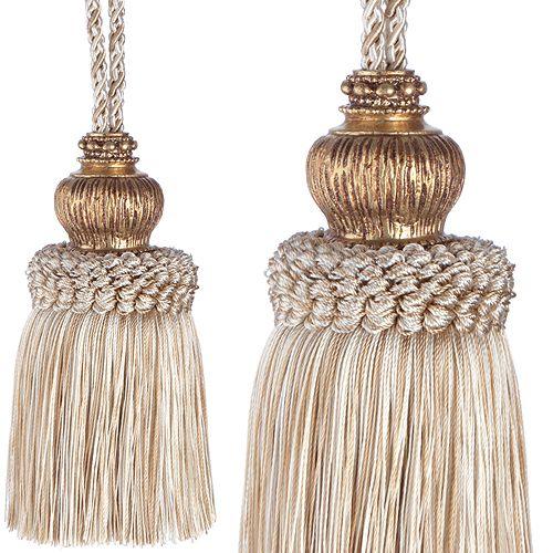 Jones Rope Key Tassel Florentine, Beige