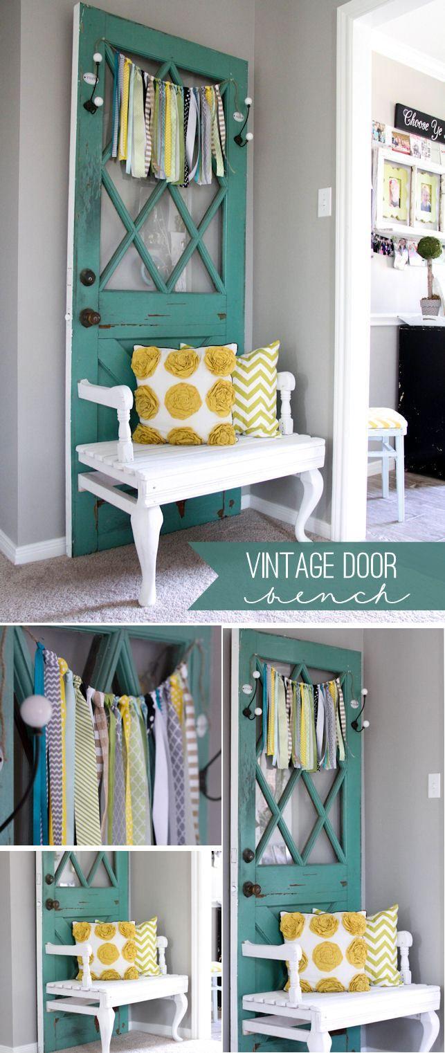 Best 25 old door bench ideas on pinterest door bench for Creative old door ideas