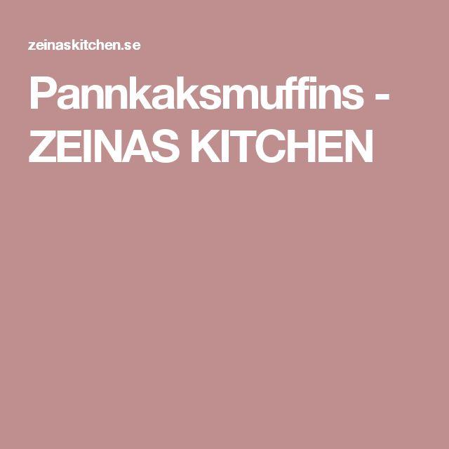 Pannkaksmuffins - ZEINAS KITCHEN
