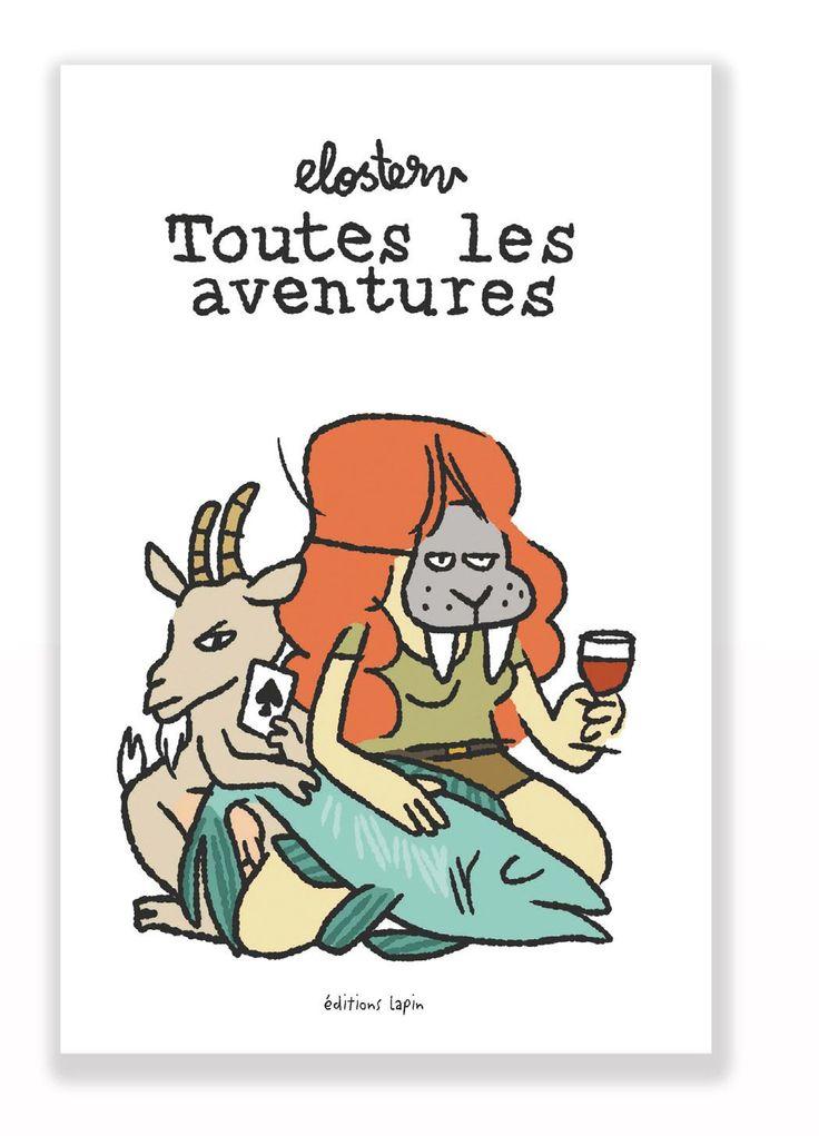 """Le premier livre d'Elosterv, championne du monde de l'humour Trash-mignon. Ce livre raconte, comme son nom l'indique, toutes les aventures. Enfin, pas celles de Télémaque, ni celles de Tintin et de Frodon non plus... Toutes les autres aventures, quoi. (Mais """" Presque toutes les aventures """", ça sonnait moins bien)."""