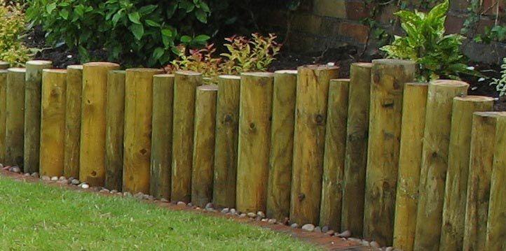 Log Retaining Wall Design Curved Log Wall Retaining 400 x 300