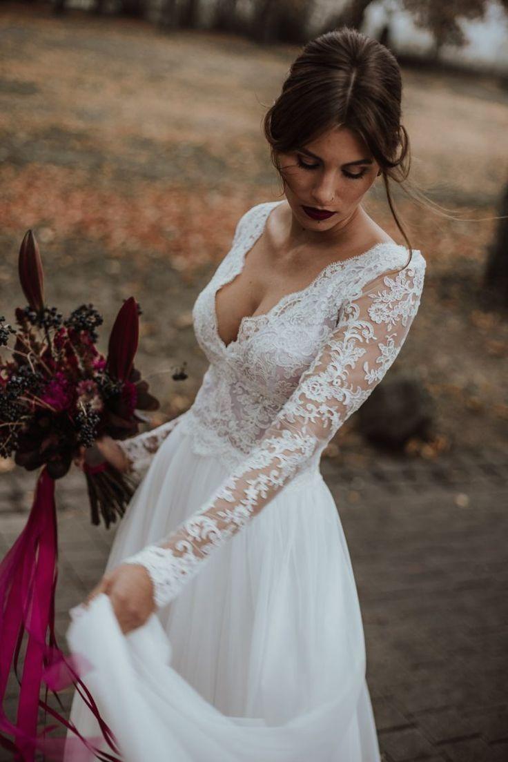 Boho #Brautkleider <br>Moderne Boho Brautkleider Brautmode