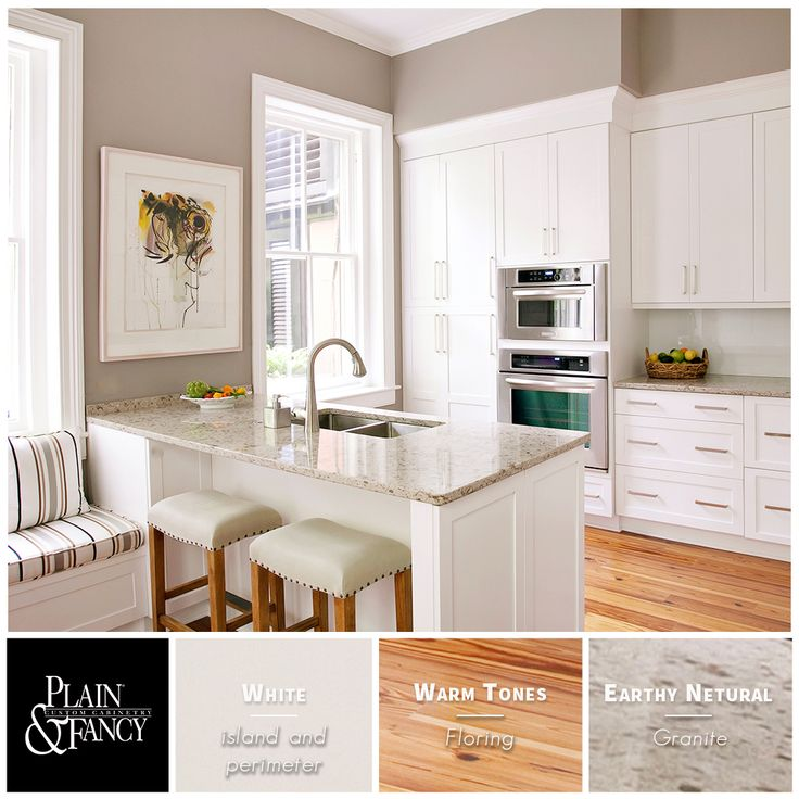 This Is A Nice Bright Kitchen Accented With Earthy And Warm Color Tones