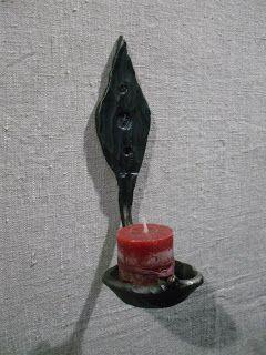 Ковка ручной работы: Подсвечники, канделябры кованые - фото