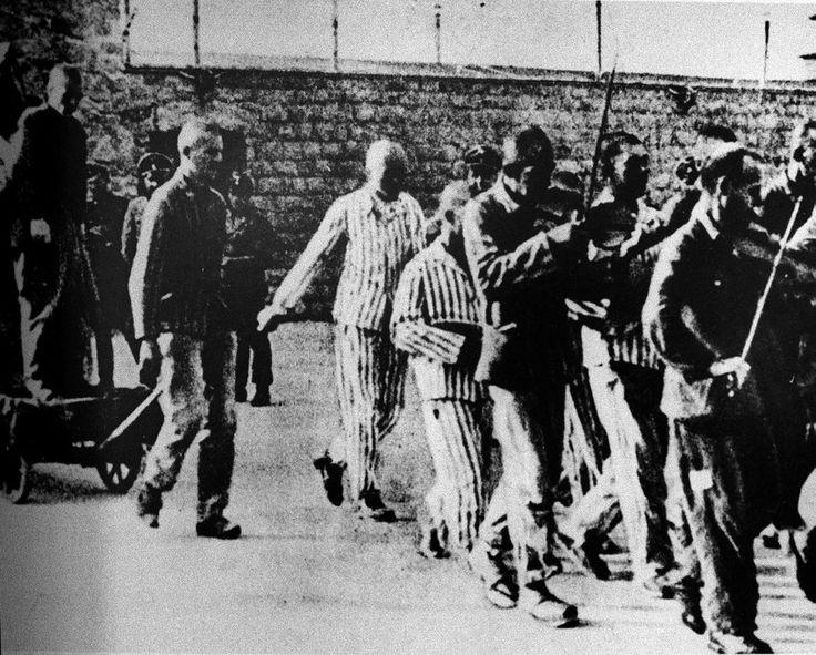 Das Bild vom 30. Juli 1942 zeigt den KZ-Häftling Hans ...