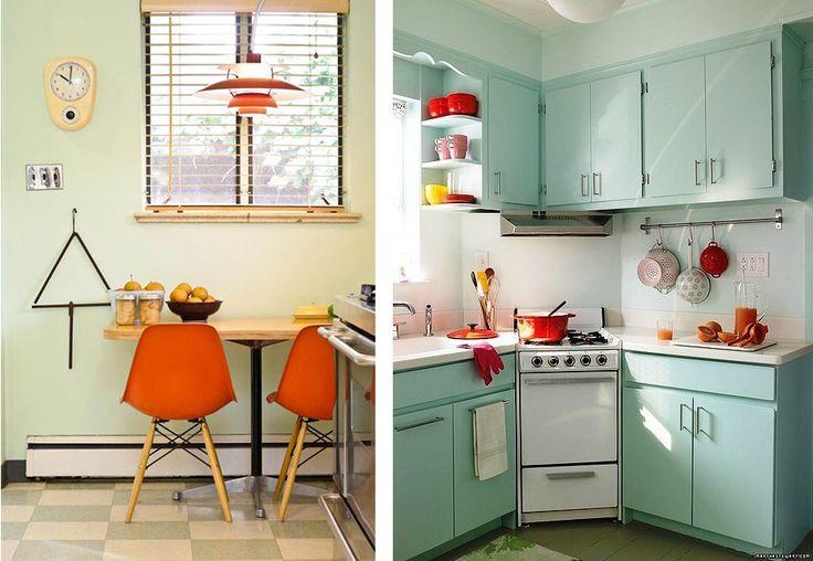 la fabrique d co r tro une cuisine tellement sixties maison pinterest deco retro la. Black Bedroom Furniture Sets. Home Design Ideas