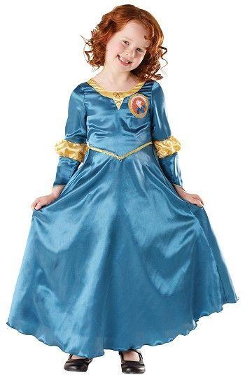 Lisensoitu Walt Disney Prinsessa Merida asu. Prinsessa Merida, poikatyttö, joka rakastaa metsässä ratsastamista, jousella ampumista ja kallioilla kiipeilyä.  #naamiaismaailma