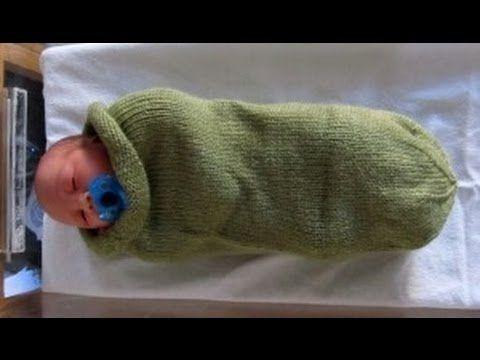 Como Telar un Capullo para BeBe Facil - Una Frazada, Manta, Cobija  http://www.comotelar.com/capullo-para-bebe/  Loom Knit Baby Cocoon