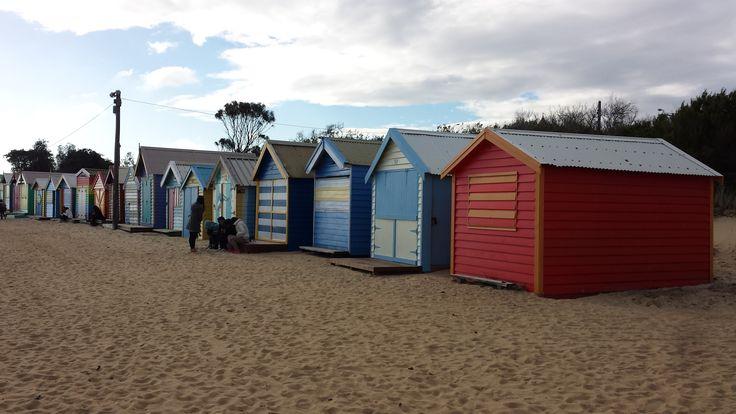 Brighton Beach - Bathing house